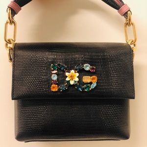 dolce and gabbana leather bag